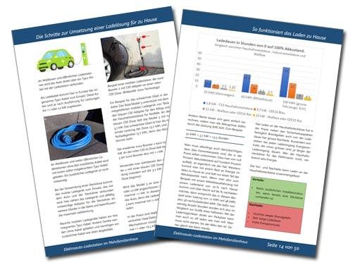 E-Book Elektroauto Ladestation im Mehrfamilienhaus Beispielseiten